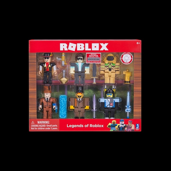 Roblox Legends Of Roblox Action Figure Pack Nwt - legends of roblox pack